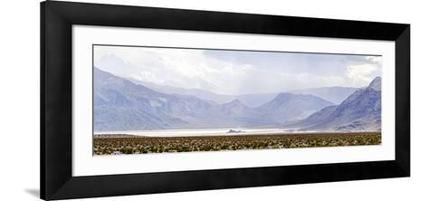 Death Valley Racetrack, Death Valley National Park, California, USA--Framed Art Print