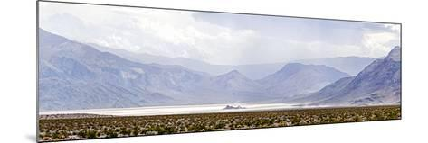 Death Valley Racetrack, Death Valley National Park, California, USA--Mounted Photographic Print