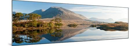 Lake at Dawn, Derryclare Lake, Connemara, County Galway, Ireland--Mounted Photographic Print