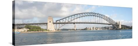 View of Sydney Harbour Bridge from Sydney Opera House, Sydney, New South Wales, Australia--Stretched Canvas Print