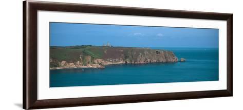 Cap Frehel Peninsula in Cotes-D'Armor, Brittany, France--Framed Art Print