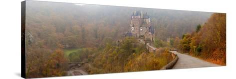 Eltz Castle in Autumn, Rhineland-Palatinate, Germany--Stretched Canvas Print