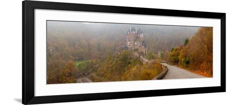 Eltz Castle in Autumn, Rhineland-Palatinate, Germany--Framed Art Print