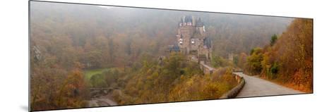 Eltz Castle in Autumn, Rhineland-Palatinate, Germany--Mounted Photographic Print
