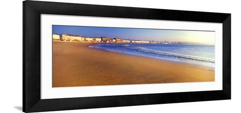 Beach, Weymouth, Dorset, England--Framed Art Print