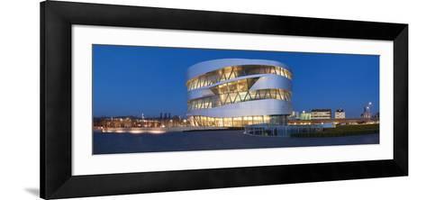 Mercedes-Benz Museum, Stuttgart, Baden-Wurttemberg, Germany--Framed Art Print