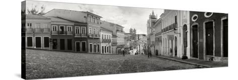 Buildings in a City, Pelourinho, Salvador, Bahia, Brazil--Stretched Canvas Print