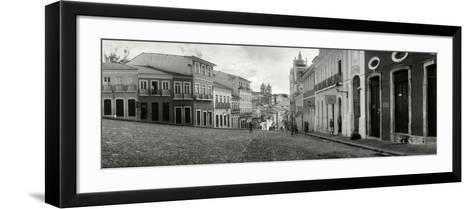 Buildings in a City, Pelourinho, Salvador, Bahia, Brazil--Framed Art Print