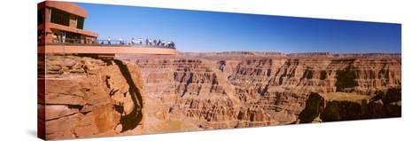 Grand Canyon Skywalk, Eagle Point, West Rim, Grand Canyon, Arizona, USA--Stretched Canvas Print