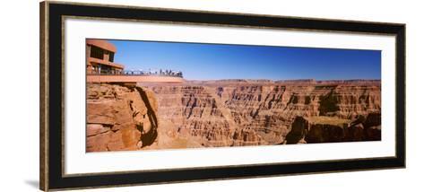 Grand Canyon Skywalk, Eagle Point, West Rim, Grand Canyon, Arizona, USA--Framed Art Print