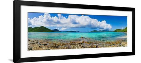 Leinster Bay, St. John, Us Virgin Islands--Framed Art Print