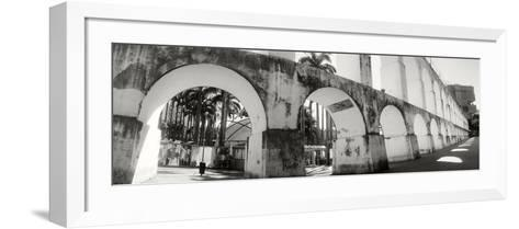 Carioca Aqueduct, Lapa, Rio De Janeiro, Brazil--Framed Art Print
