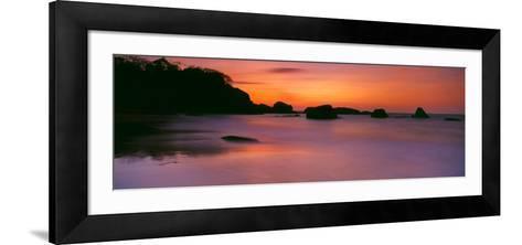Sunset over the Sea, Goa, India--Framed Art Print
