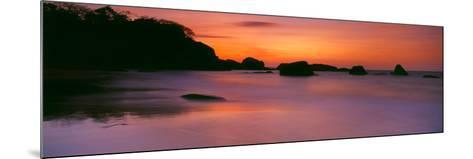 Sunset over the Sea, Goa, India--Mounted Photographic Print