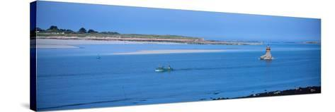 Aber Benoit in the Aber Coast, Finistere, Brittany, France--Stretched Canvas Print