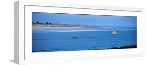 Aber Benoit in the Aber Coast, Finistere, Brittany, France--Framed Art Print