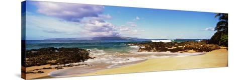 Beach at North Shore, Maui, Hawaii, USA--Stretched Canvas Print