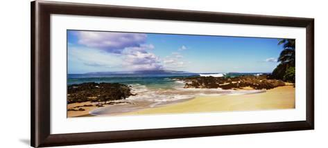 Beach at North Shore, Maui, Hawaii, USA--Framed Art Print