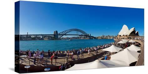 Sydney Opera House, Sydney, New South Wales, Australia--Stretched Canvas Print