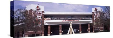 Facade of the Jim Patterson Stadium, Louisville, Kentucky, USA--Stretched Canvas Print