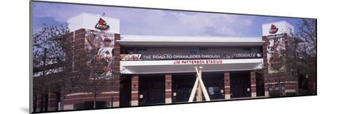 Facade of the Jim Patterson Stadium, Louisville, Kentucky, USA--Mounted Photographic Print