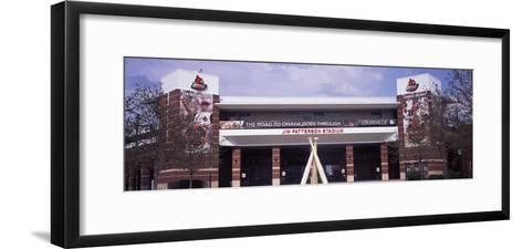 Facade of the Jim Patterson Stadium, Louisville, Kentucky, USA--Framed Art Print
