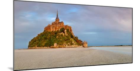 Cathedral on an Island, Mont Saint-Michel, Manche, Basse-Normandy, France--Mounted Photographic Print