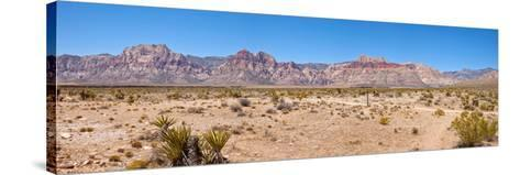 Red Rock Canyon Near Las Vegas, Nevada, USA--Stretched Canvas Print
