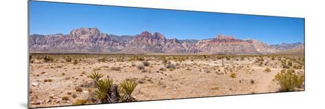 Red Rock Canyon Near Las Vegas, Nevada, USA--Mounted Photographic Print