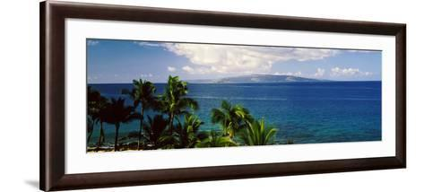 Palm Trees on the Beach, North Shore, Oahu, Hawaii, USA--Framed Art Print