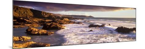 Rocks on the Beach, Whitsand Bay, Cornwall, England--Mounted Photographic Print