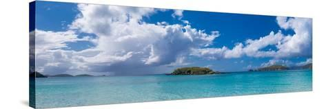 Clouds over the Sea, Cinnamon Bay, St. John, Us Virgin Islands--Stretched Canvas Print