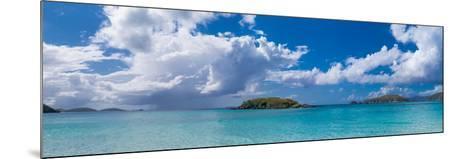 Clouds over the Sea, Cinnamon Bay, St. John, Us Virgin Islands--Mounted Photographic Print