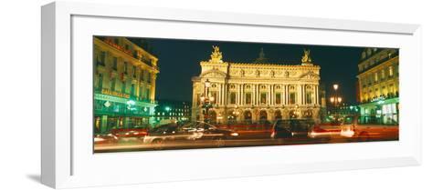 Facade of an Opera House, Palais Garnier, Paris, France--Framed Art Print