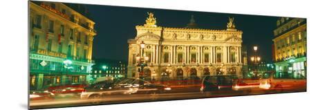 Facade of an Opera House, Palais Garnier, Paris, France--Mounted Photographic Print