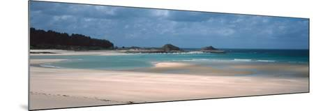 Beach of Sables-D'Or-Les-Pins Near Cap Frehel, Cotes-D'Armor, Brittany, France--Mounted Photographic Print