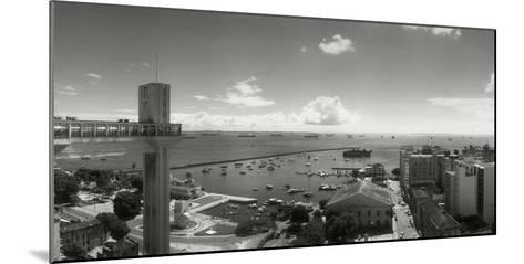 Buildings on the Coast, Lacerda Elevator, Pelourinho, Salvador, Bahia, Brazil--Mounted Photographic Print