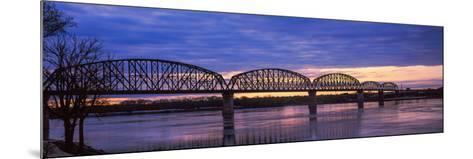 Bridge across a River, Big Four Bridge, Louisville, Kentucky, USA--Mounted Photographic Print