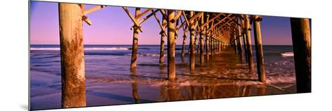 Pier over the Ocean, Folly Beach Fishing Pier, Folly Beach, Folly Island, Charleston County--Mounted Photographic Print