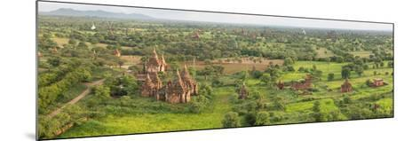 Southern View of Stupas Seen from Top of Tower at Aureum Palace Hotel, Bagan, Mandalay Region--Mounted Photographic Print