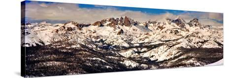 Snow Covered Landscape, Mammoth Lakes, Mono County, California, USA--Stretched Canvas Print