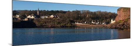 Thatched Cottages in a Town, Dunmore Strand, County Waterford, Republic of Ireland--Mounted Photographic Print