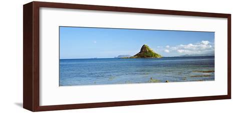 China Man's Hat, Oahu, Hawaii, USA--Framed Art Print