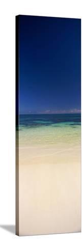 Shoreline, Oahu, Hawaii, USA--Stretched Canvas Print