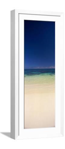 Shoreline, Oahu, Hawaii, USA--Framed Art Print