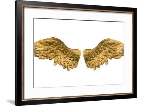 Raster Version of Golden Wings-Gilmanshin-Framed Art Print