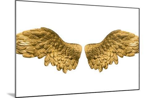 Raster Version of Golden Wings-Gilmanshin-Mounted Art Print