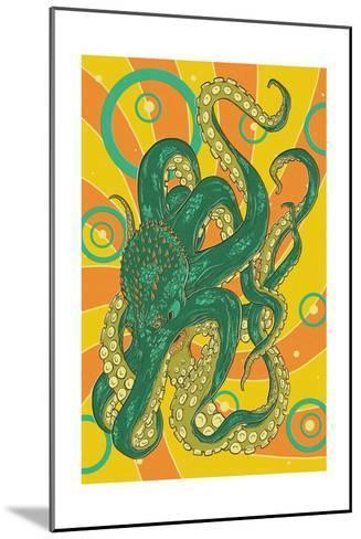 Kraken-Lantern Press-Mounted Art Print
