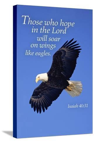 Isaiah 40:31 - Inspirational-Lantern Press-Stretched Canvas Print