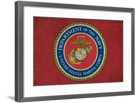 Department of the Marine Corps - Military - Insignia-Lantern Press-Framed Art Print